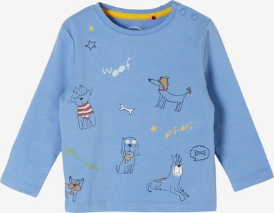 s.Oliver Shirt in hellblau / gelb / rot / schwarz, Produktansicht