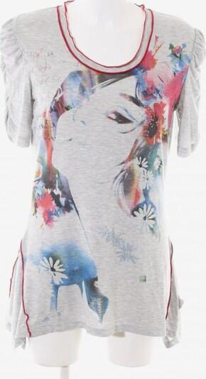 Cosima Print-Shirt in M in blau / hellgrau / rot, Produktansicht