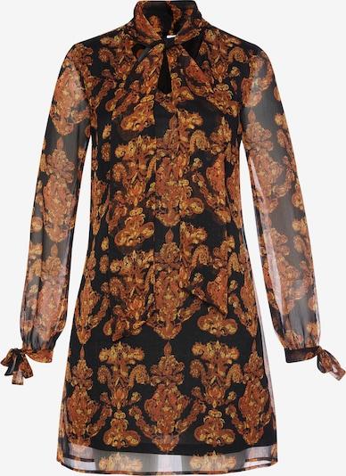 LASCANA Šaty - hrdzavohnedá / čierna, Produkt