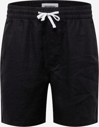 WEEKDAY Shorts 'Olsen' in schwarz, Produktansicht