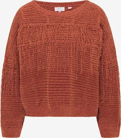 IZIA Pullover in rostbraun, Produktansicht