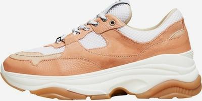 SELECTED FEMME Sneaker 'Gavina' in creme / hellbraun / weiß, Produktansicht
