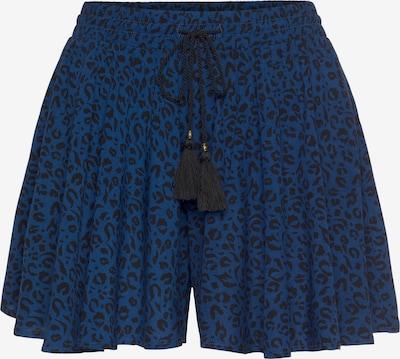 BRUNOTTI Kalhoty se sklady v pase 'Asha' - nebeská modř / černá, Produkt