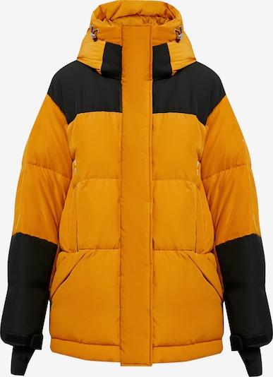 Finn Flare Winterjas in de kleur Donkeroranje / Zwart, Productweergave