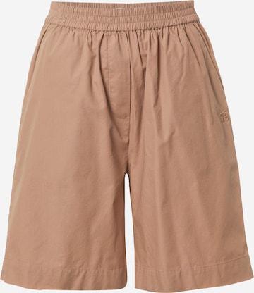 Pantalon 'Vivian' Esmé Studios en marron