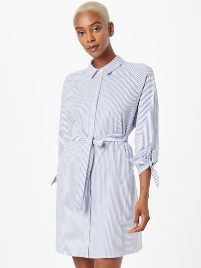 NAF NAF Košeľové šaty 'LA PETITE RAY' - modrosivá / biela, Model/-ka