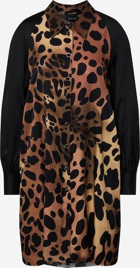Just Cavalli Robe-chemise 'S02CT1092' en marron / noir, Vue avec produit