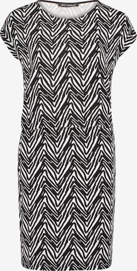 Betty Barclay Jerseykleid mit Streifen in schwarz, Produktansicht