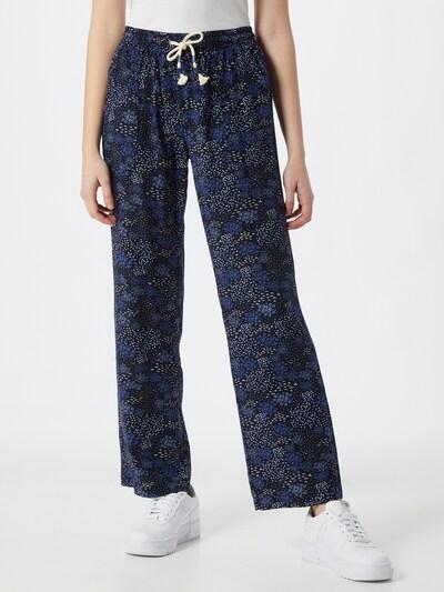 Pantaloni Iriedaily di colore navy / blu reale / bianco, Visualizzazione modelli