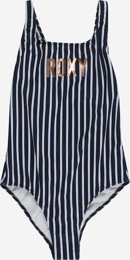 ROXY Badeanzug 'GIRL GO FURTHER' in dunkelblau / gold / weiß, Produktansicht