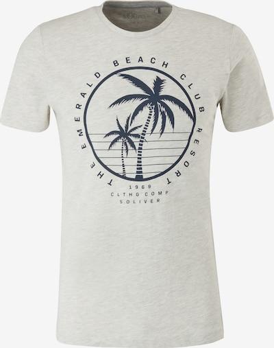 s.Oliver T-Shirt in beige / grau, Produktansicht