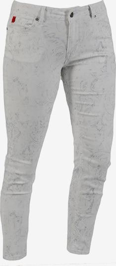 Miracle of Denim Jeans 'Sina' in taubenblau / weiß, Produktansicht
