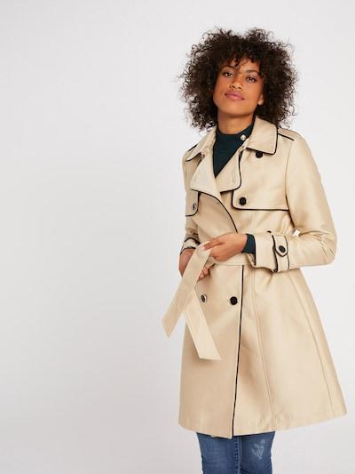 Palton de primăvară-toamnă '191-GINGER.N' Morgan pe bej, Vizualizare model