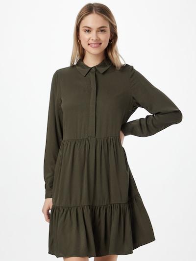 VILA Kleid 'MOROSE' in dunkelgrün, Modelansicht