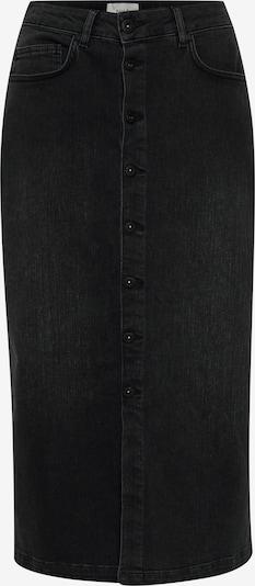 PULZ Jeans Rok 'PZMARIE' in de kleur Black denim, Productweergave