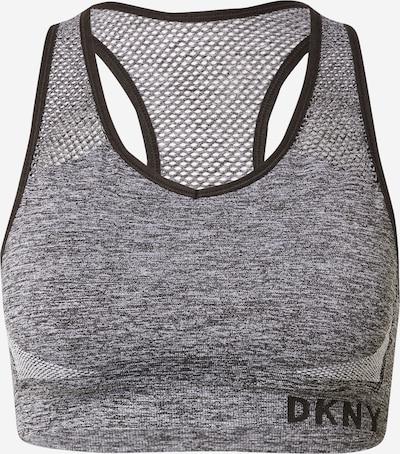 DKNY Performance Sport-BH in grau: Frontalansicht