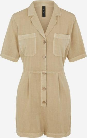 Y.A.S Playsuit in beige, Produktansicht