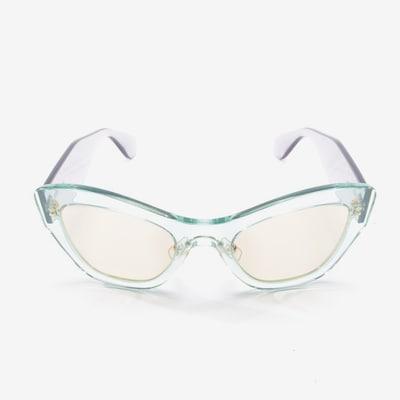 Miu Miu Sunglasses in One size in Grey / Mint, Item view