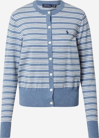 POLO RALPH LAUREN Cardigan en bleu / blanc, Vue avec produit