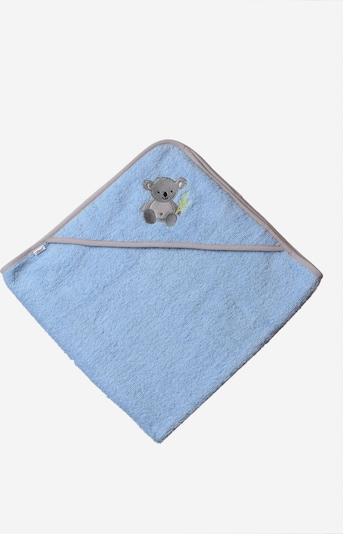 LILIPUT Kapuzenbadetuch 'Koala' in blau, Produktansicht