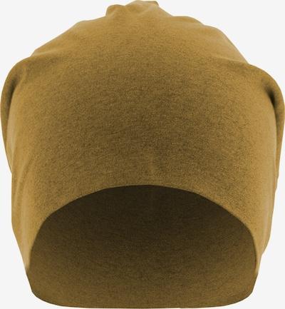 MSTRDS Bonnet ' Heather Jersey Beanie ' en jaune / moutarde, Vue avec produit
