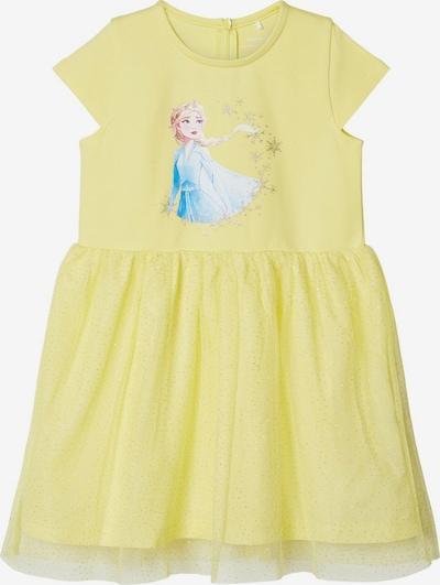 NAME IT Kleid in blau / gelb, Produktansicht