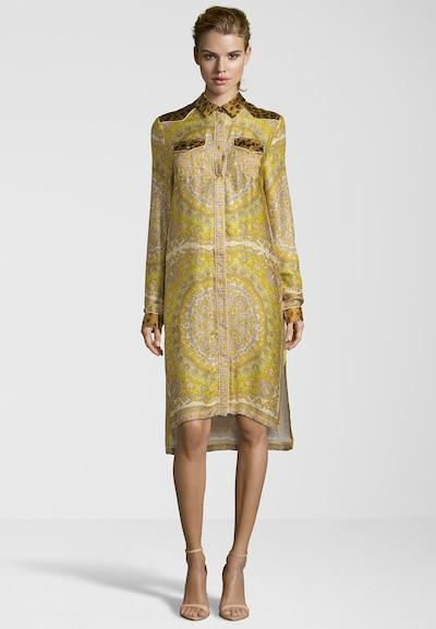 REPLAY Kleid in gelb / mischfarben, Modelansicht