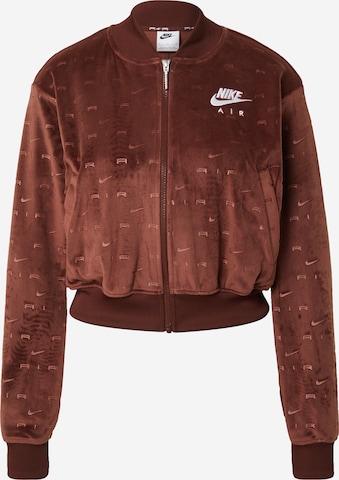 Nike Sportswear Between-Season Jacket in Brown