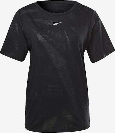 REEBOK Shirt 'Burnout' in schwarz / weiß, Produktansicht