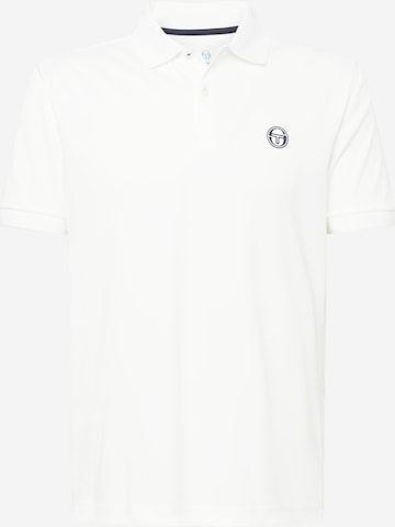 Tricou funcțional 'TCP POLO SS MAN' de la Sergio Tacchini pe alb