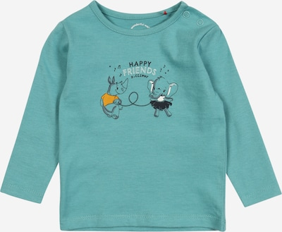 s.Oliver Junior T-Shirt in aqua / gelb / schwarz / weiß, Produktansicht
