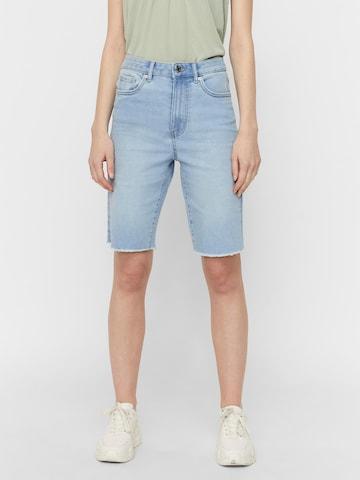 VERO MODA Jeans 'Loa Faith' in Blauw