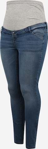 Mamalicious Curve Jeans 'MLSARNIA' in Blue
