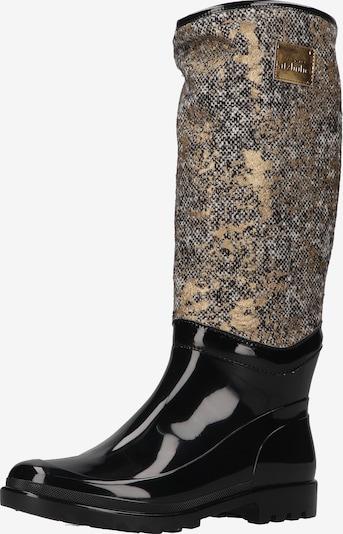 Living Kitzbühel Bottes en caoutchouc en mélange de couleurs / noir, Vue avec produit