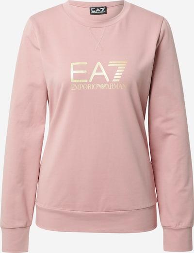 EA7 Emporio Armani Sweat-shirt en rose clair / blanc, Vue avec produit