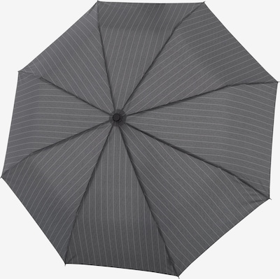 Doppler Regenschirm 'Fiber Magic' in grau / dunkelgrau, Produktansicht