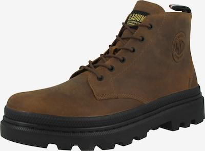 Palladium Boots en marron, Vue avec produit
