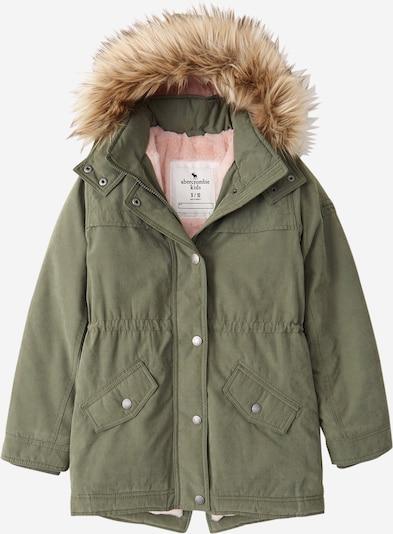 Giacca invernale Abercrombie & Fitch di colore marrone chiaro / cachi / rosa, Visualizzazione prodotti