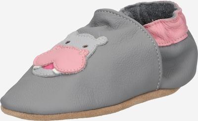 Botoșei bebeluși 'Hippo' BECK pe gri / roz, Vizualizare produs