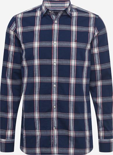 TOMMY HILFIGER Hemd in dunkelblau / rot / weiß, Produktansicht
