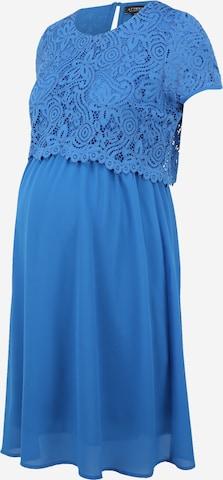 Attesa Φόρεμα κοκτέιλ σε μπλε