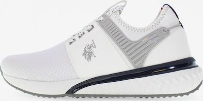 U.S. Polo Assn. Slip-On Sneaker 'Felix' in weiß, Produktansicht