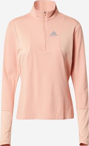 ADIDAS PERFORMANCE Funkcionális felső 'Own The Run' - rózsaszín