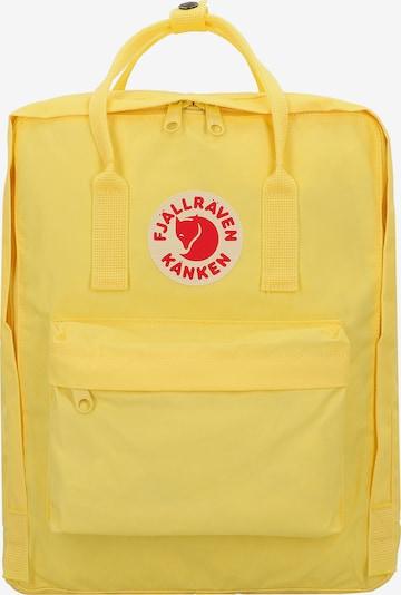 Fjällräven Rucksack 'Kanken' in gelb / rot, Produktansicht