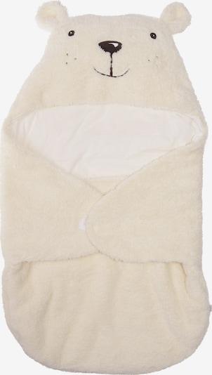 LILIPUT Niedliche Einschlagdecke mit Kapuze in weiß, Produktansicht