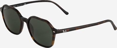 Ray-Ban Слънчеви очила 'JOHN' в ръждиво кафяво / тъмнокафяво / бяло, Преглед на продукта