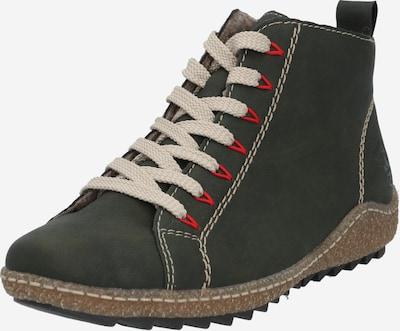 RIEKER Ankelstøvler i mørkegrøn, Produktvisning