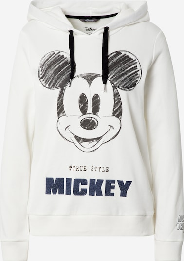 PRINCESS GOES HOLLYWOOD Sweatshirt 'Disney Mickey' in de kleur Navy / Zwart / Wit, Productweergave