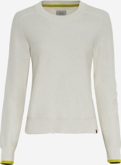 CAMEL ACTIVE Pullover in grün / neongrün / hellgrün / weiß, Produktansicht