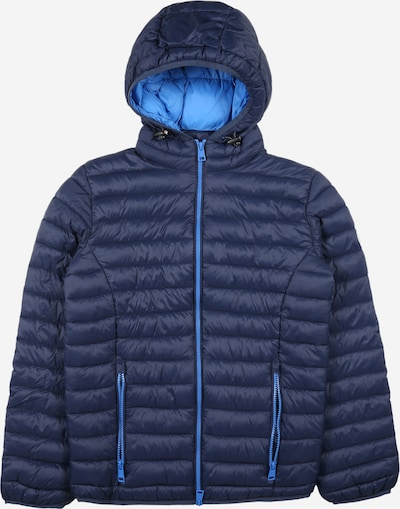 Champion Authentic Athletic Apparel Between-Season Jacket in Navy / Turquoise, Item view